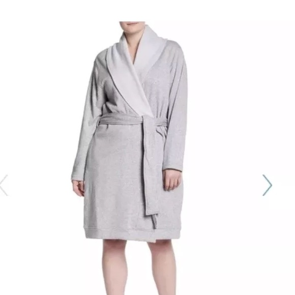 8ba72b4012 NWT UGG robe Blanche robe in heather gray 1X